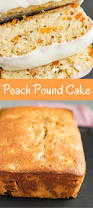peach pound cake baked by an introvert