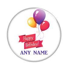 personalised birthday balloons bish bosh badges personalised custom badges fridge magnets