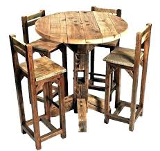 breakfast table for two rustic breakfast table coaster dining table two tone finish with