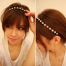 hair accessories headbands new korea hair accessories dazzling rhinestone headbands for women