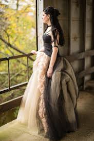dark u0026 sparkly halloween wedding with black vera wang wedding gown