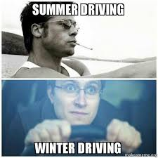 Funny Memes About Driving - winter driving tips funny meme driving tips pinterest