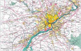 Map Of Pennsylvania by 1up Travel Maps Of Pennsylvania Philadelphia Original Scale 1