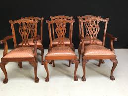Chippendale Dining Room Furniture Antique Chippendale Dining Chairs New Home Design
