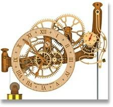 7 Free Wooden Gear Clock Plans by All Clocks