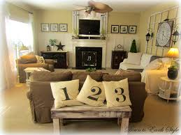 furniture endearing country rustic living room decorating ideas