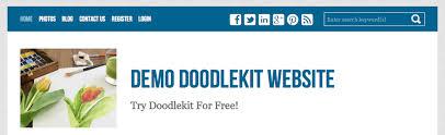doodlekit login how to make logos banners for your website doodlekit support