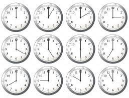 les heures de bureau horloge de bureau toutes les heures image vectorielle nicemonkey