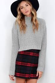 plaid skirt navy plaid skirt envelope skirt flannel skirt 52 00