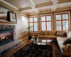 paint colors for living room with wood trim home design home