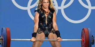 Woman Lifting Weights Meme - unflattering beyonce photos get meme treatment