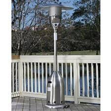 fire sense stainless steel patio heater with adjustable table fire sense patio heater ebay