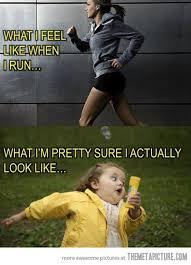 Girl Running Meme - funny girl running meme yellow coat qmix