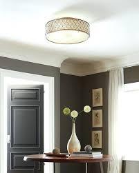 Nickel Ceiling Light Flush Mount Kitchen Ceiling Lighting Light Fixtures Led