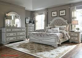 Bed Sets White Magnolia Manor 4 Upholstered Bedroom Set In Antique White