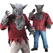 halloween costumes werewolf halloween grey werewolf costume