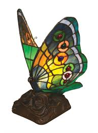 stained glass butterfly l green butterfly tiffany stained glass night l all things tiffany