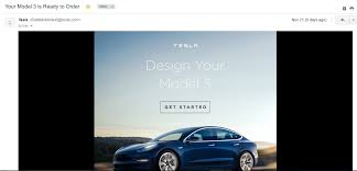configuring a tesla model 3 buyer walks through the process with us