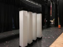 The Desk Set Play 4 Beacons Church Stage Design Ideas