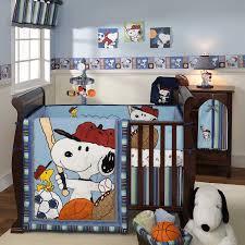 sweet snoopy taste at baby boy nursery themes enhanced with clean