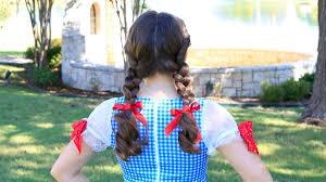 Dorothy Halloween Makeup by Bailey U0027s Dorothy Braids Halloween Hairstyles Cute Girls Hairstyles