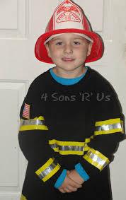 fireman costume diy fireman costume 4 sons r us
