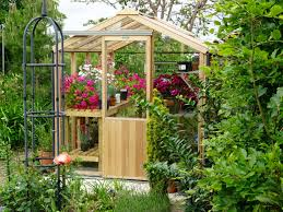 Greenhouse 6x8 Alton Evolution Six 6ft X 8ft Cedar Greenhouse