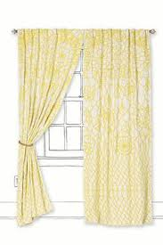 threshold paisley curtain panel the yellow would really