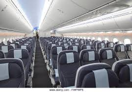 747 Dreamliner Interior Holidaymakers Airplane Stock Photos U0026 Holidaymakers Airplane Stock