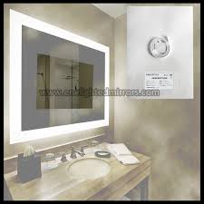 Illuminated Bathroom Mirror - illuminated bathroom mirror heater essence sanitary wares co limited