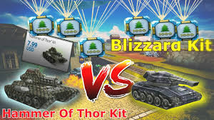tanki online buying kit s hammer of thor kit vs blizzard kit