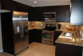 painted black kitchen cabinets pictures in mobile homes outdoor