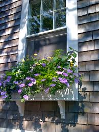 Window Flower Boxes Flower Boxes With Drip Irrigation Work Be Sure To Allow For A Good