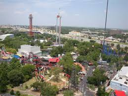 six flags crowds is it packed real time crowd
