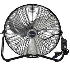 decorative wall mounted oscillating fans lasko 20 in high velocity floor or wall mount fan in black 2264qm