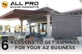 Awnings For Businesses Home All Pro Shade Concepts
