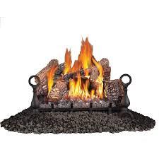 napoleon 24 in vent free propane gas log set gvfl24p the home depot