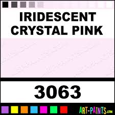iridescent crystal pink transparent stained glass window paints