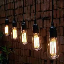 Hanging Light Bulb Pendant Hanging Edison Bulbs Bulb Pendant Lights Bulb Antique Filament