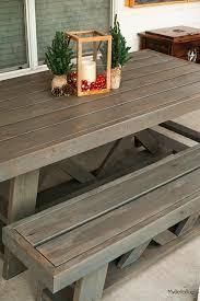 Patio Table Beer Cooler Diy Outside Table Plans Patio Table With Built In Beer Wine