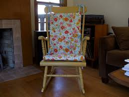 Rocking Chair Cushion Nursery Sewing For Rocking Chair Cushions Rocking Chairs And Craft