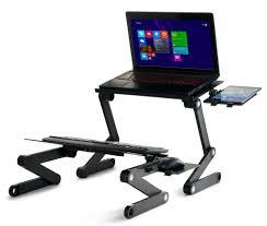 Standing Desk For Laptop by Adjustable Standing Desk Icraze Laptop Stands