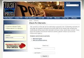 Florida Bench Warrants Tulsa Warrants Check For Outstanding Arrest Warrants In Tulsa