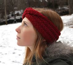 knitted headband knitted turban headband and whimsy