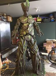 groot costume diy groot guardians of the galaxy costume i am groot 5 steps