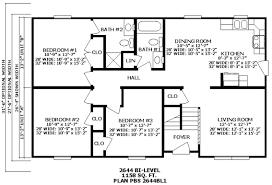 3 level split floor plans unusual design ideas bi level house plans 11 extraordinary
