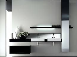 bathroom milano modern black bathroom vanity table with sink an