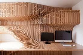 Unique Home Office Desk Bespoke Desk And Office Storage Unit In Amazing Private Home