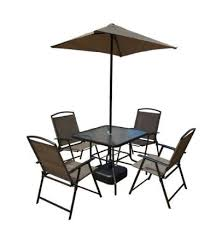 Home Depot Patio Table And Chairs 7 Steel Sling Folding Patio Set Only 94 98 At Home Depot