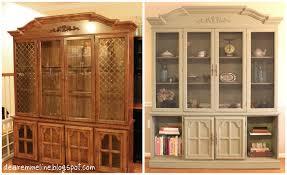 china cabinet turned farmhouse style pantry